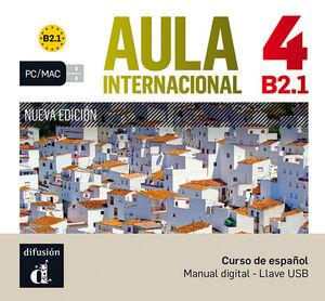 AULA INTERNACIONAL NUEVA EDICIÓN 4 USB