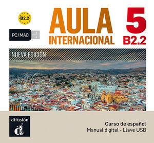AULA INTERNACIONAL NUEVA EDICIÓN 5 USB