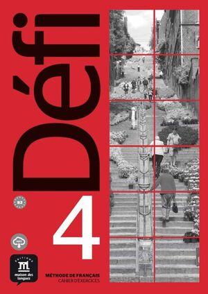 DEFI 4 - NIVEL B2: CAHIER D EXERCICES + MP3 DESCARGABLE