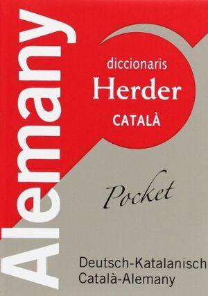 DICCIONARIS HERDER POCKET DEUTSCH - KATALANISCH CATALÀ - ALEMANY