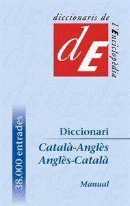 DICCIONARI CATALÀ-ANGLÈS / ANGLÈS-CATALÀ, MANUAL