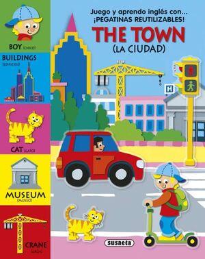 THE TOWN/THE FARM. JUEGO Y APRENDO INGLÉS CON PEGATINAS