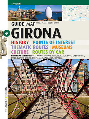 GIRONA, GUIDE + MAP ENGLISH