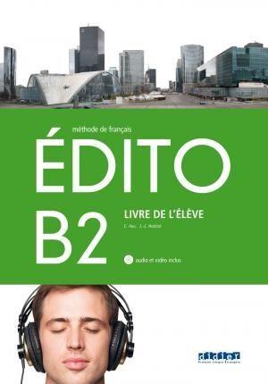 EDITO B2  LIVRE DE L'ELEVE