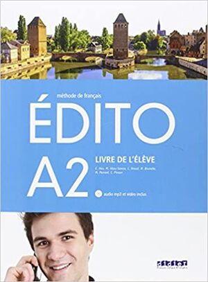 EDITO A2 ALUMNO +CD +DVD