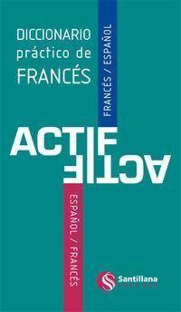 DICC.ACTIF FRANCES/ESPAÑOL VV (+CD-ROM) (ED.2013)