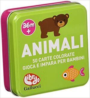 ANIMALI. 50 CARTE DOMANDE E RISPOSTE. 36M+