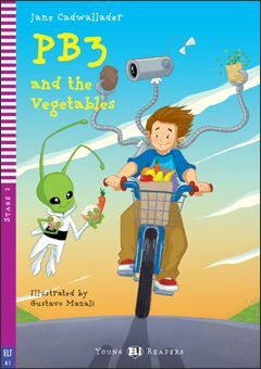 A1.PB3 AND THE VEGETABLES +CD. YOUNG READERS