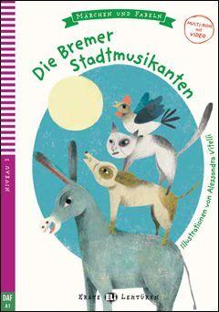 A1. DIE BREMER STADTMUSIKANTEN +CD. ERSTE LEKTUREN