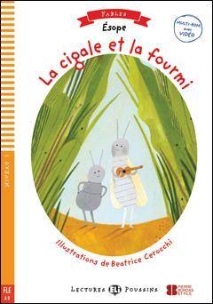 A0. LA CIGALE ET LA FOURMI +CD. LECTURES POUSSINS