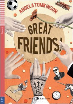 A1. GREAT FRIENDS +CD. TEEN READERS
