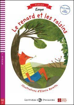 A1. LE RENARD ET LES RAISINS +CD. LECTURES POUSSINS