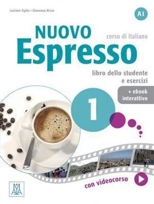 NUOVO ESPRESSO : LIBRO STUDENTE + EBOOK INTERATTIVO 1