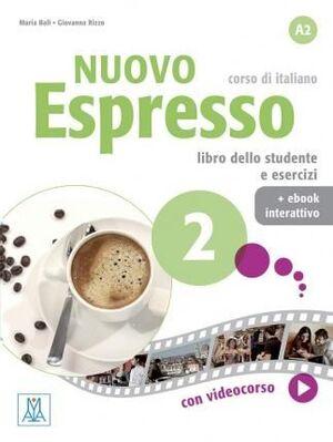 NUOVO ESPRESSO : LIBRO STUDENTE + EBOOK INTERATTIVO 2