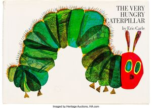THE VERY HUNGRY CATERPILLAR (142 X 200)